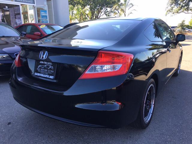 2012 Honda Civic LX 2dr Coupe 5A - Davis CA