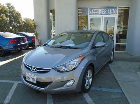 2013 Hyundai Elantra for sale in Davis, CA