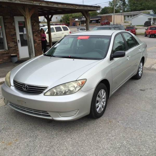 2006 toyota camry le 4dr sedan w manual in mt sterling ky doug dawson motor. Black Bedroom Furniture Sets. Home Design Ideas
