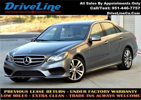 2016 Mercedes-Benz E-Class for sale in Murrieta, CA