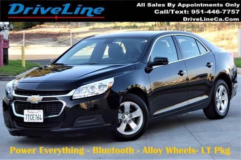 2016 Chevrolet Malibu Limited for sale in Murrieta, CA