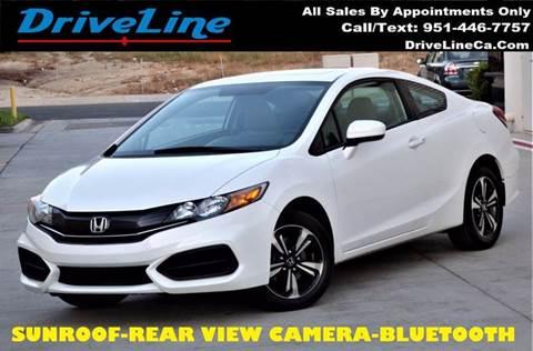 2014 Honda Civic for sale in Murrieta, CA