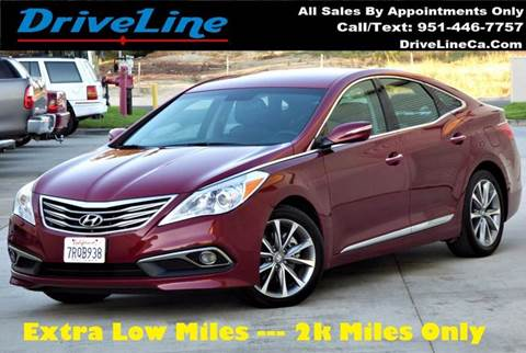2016 Hyundai Azera for sale in Murrieta, CA