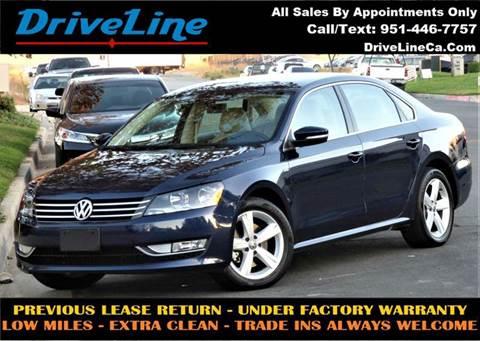 2015 Volkswagen Passat for sale in Murrieta, CA