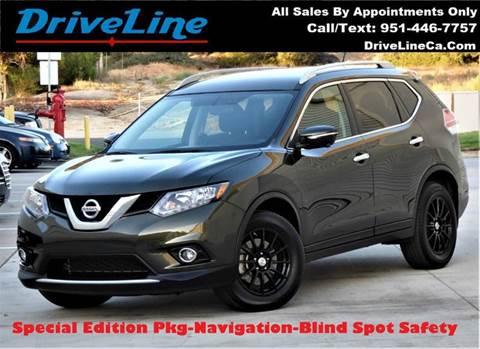 2015 Nissan Rogue for sale in Murrieta, CA