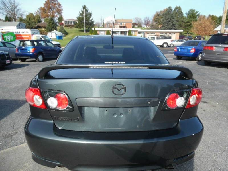 mazda 6 2005 sport. vehicle options mazda 6 2005 sport