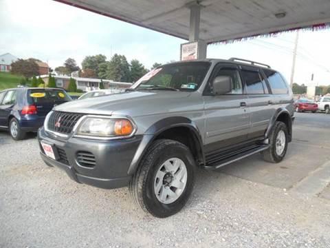 2001 Mitsubishi Montero Sport For Sale In York, PA