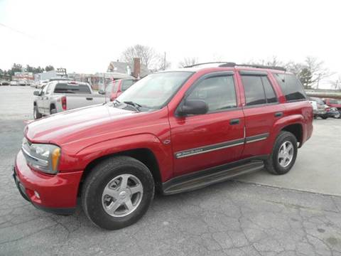 2002 Chevrolet TrailBlazer for sale in York, PA