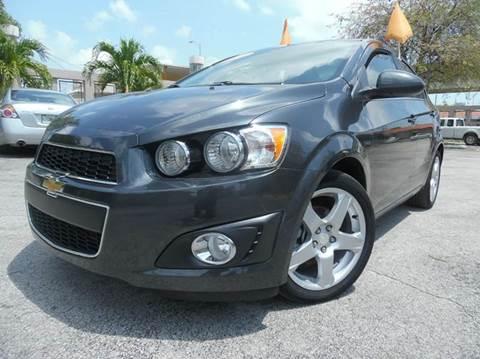 2016 Chevrolet Sonic for sale in Hialeah, FL