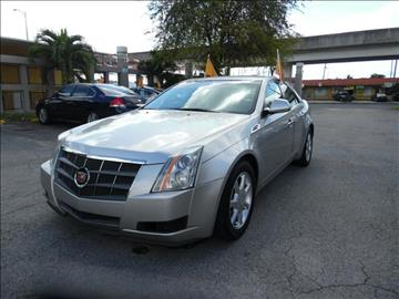 2008 Cadillac CTS for sale in Hialeah, FL