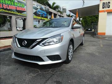 2015 Nissan Sentra for sale in Hialeah, FL