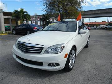 2010 Mercedes-Benz C-Class for sale in Hialeah, FL