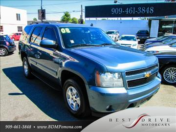 2008 Chevrolet Tahoe for sale in Pomona, CA