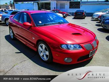 2006 Pontiac GTO for sale in Pomona, CA