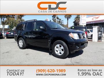 2006 Nissan Pathfinder for sale in Pomona, CA