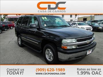 2004 Chevrolet Tahoe for sale in Pomona, CA