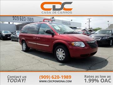 2006 Chrysler Town and Country for sale in Pomona, CA