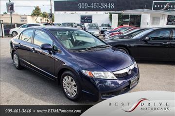 2011 Honda Civic for sale in Pomona, CA