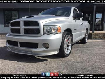 2005 Dodge Ram Pickup 1500 SRT-10 for sale in Springdale, AR