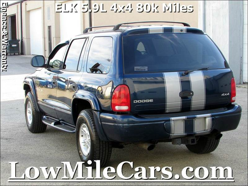 2000 dodge durango 4dr r t 4wd suv in burr ridge il. Black Bedroom Furniture Sets. Home Design Ideas