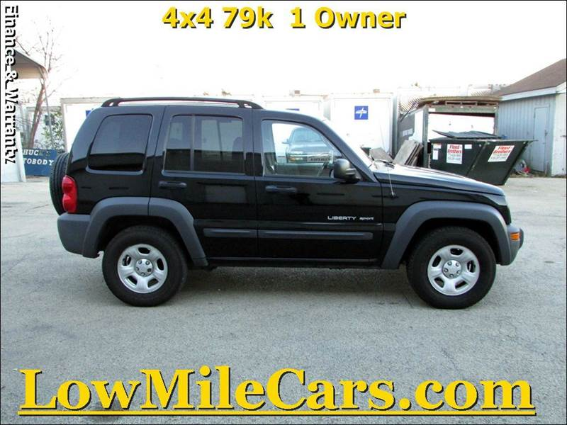 2003 jeep liberty 4dr sport 4wd suv in burr ridge il a1 auto sales. Black Bedroom Furniture Sets. Home Design Ideas