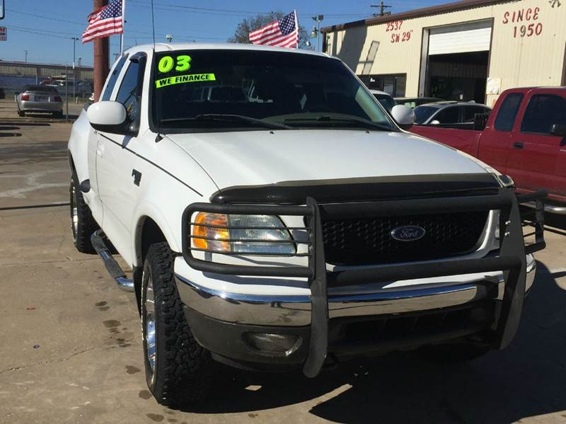 Ford F  Dr Supercab Lariat Wd Flareside Sb Oklahoma City Ok