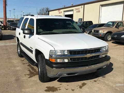 2003 Chevrolet Tahoe for sale in Oklahoma City, OK