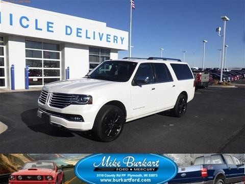 2017 Lincoln Navigator L for sale in Plymouth, WI