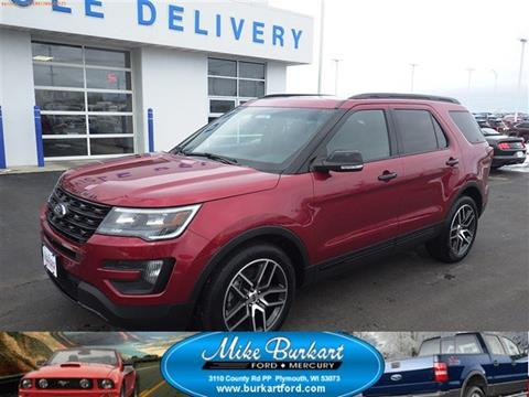 2016 Ford Explorer for sale in Plymouth, WI