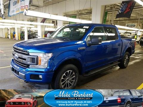 Used Trucks For Sale In Wisconsin >> 2018 Ford F 150 For Sale In Plymouth Wi