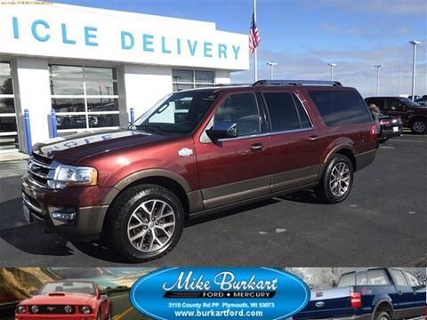 2017 Ford Expedition EL for sale in Plymouth, WI