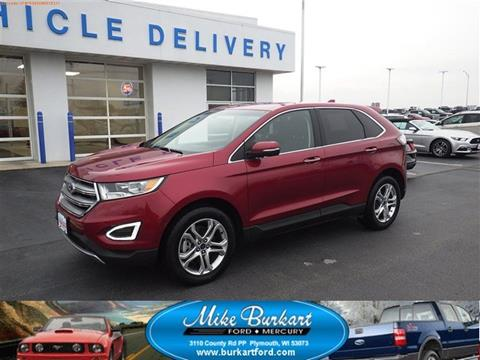 2017 Ford Edge for sale in Plymouth, WI
