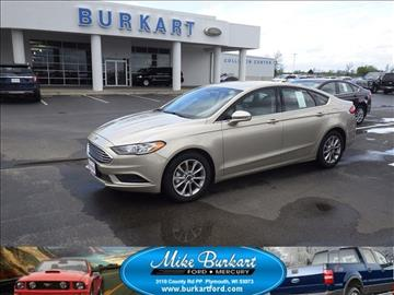2017 Ford Fusion for sale in Plymouth, WI
