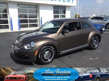 2012 Volkswagen Beetle for sale in Plymouth, WI