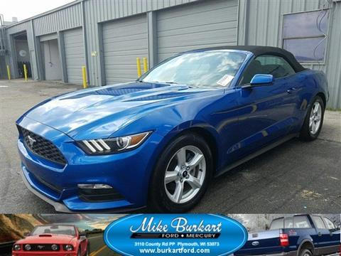 2017 Ford Mustang for sale in Plymouth, WI