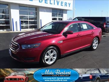 2016 ford taurus for sale wisconsin. Black Bedroom Furniture Sets. Home Design Ideas