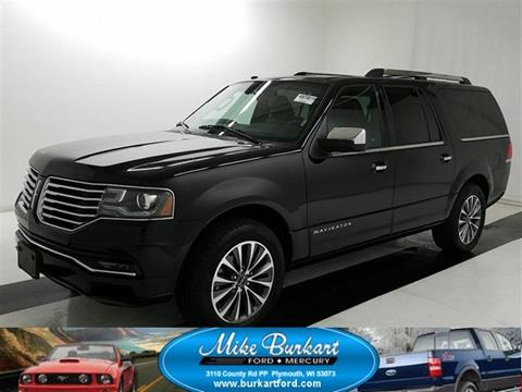 2016 Lincoln Navigator L for sale in Plymouth, WI