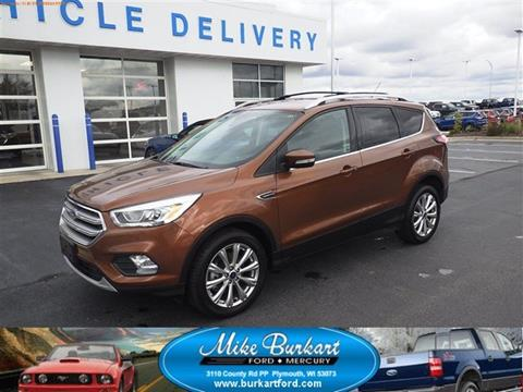 2017 Ford Escape for sale in Plymouth, WI
