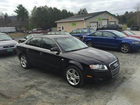 2007 Audi A4 for sale in Waterbury Center	, VT