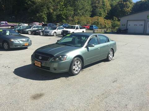 2005 Nissan Altima for sale in Waterbury Center	, VT