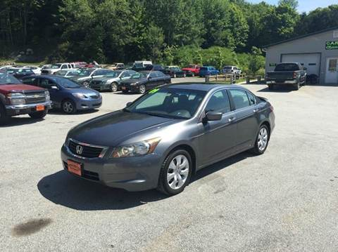 2009 Honda Accord for sale in Waterbury Center	, VT