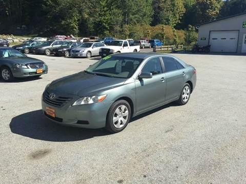 2007 Toyota Camry for sale in Waterbury Center, VT