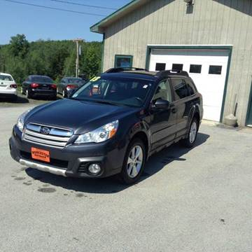 2013 Subaru Outback for sale in Waterbury Center, VT