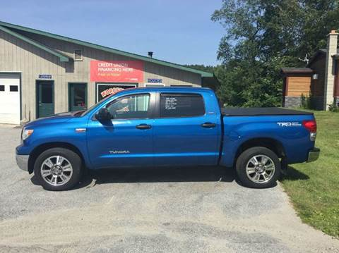 2008 Toyota Tundra for sale in Waterbury Center, VT