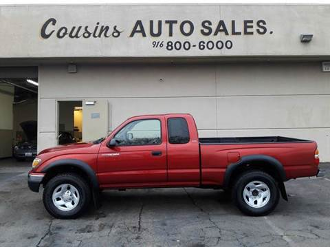 2004 Toyota Tacoma for sale in Sacramento, CA