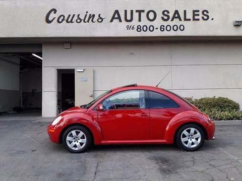 2007 Volkswagen New Beetle for sale in Sacramento, CA