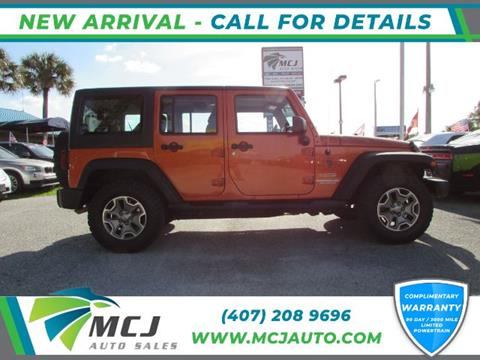 2011 Jeep Wrangler Unlimited for sale in Orlando, FL