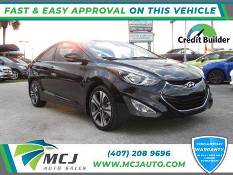 2014 Hyundai Elantra Warranty >> 2014 Hyundai Elantra Coupe For Sale In Orlando Fl