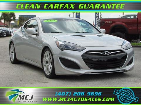 2013 Hyundai Genesis Coupe for sale in Orlando, FL