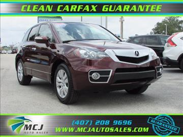 2010 Acura RDX for sale in Orlando, FL
